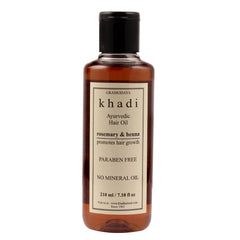 Khadi Natural Henna Rosemarry & Henna Hair Oil 210ml