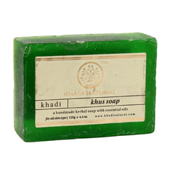 Soaps - Khadi Natural Khus Soap 125gm