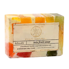 Soaps - Khadi Natural Mix Fruit Soap 125gm