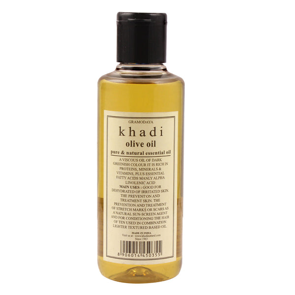 Khadi Natural Olive Oil 210ml