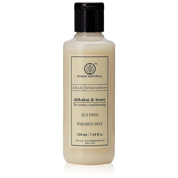 Khadi Natural Shikakai & Honey Hair Conditioner Sls & Paraben Free 210ml