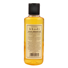 Khadi Natural Sweet Almond Oil 210ml