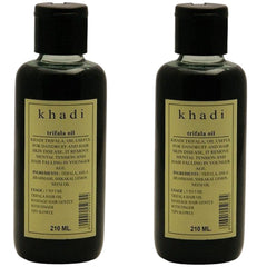 Khadi Natural Triphala Oil (Pack Of 2) 210ml Each