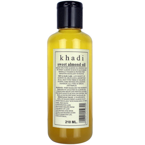 Khadi Natural Sweet Almond Oil 100ml