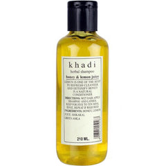 Khadi Natural Herbal Shampoo With Honey And Lemon Juice 210ml