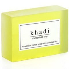 Khadi Natural Chandan Haldi Soap 125gm