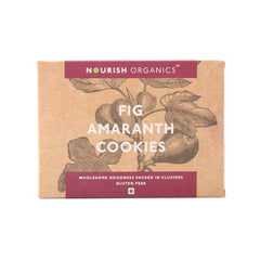 Nourish Organics Fig Amaranth Cookies 120gm