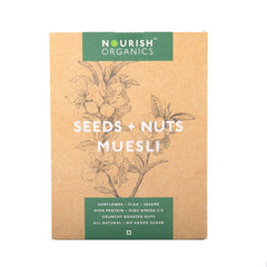 Nourish Organics Seeds & Nuts Muesli 300gm