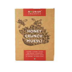 Nourish Organics Honey Crunch Muesli 300gm