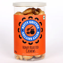 Nutty Gritties Honey Roasted Cashews 180gm