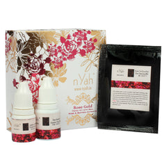 Nyah Rose Saffron Small Facial Kit 7 Steps(single Facial)