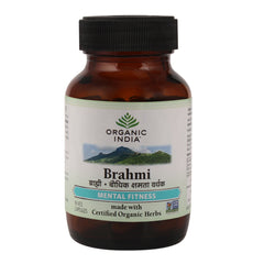 Brain - Organic India Brahmi 60 Capsules Bottle