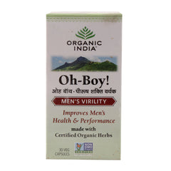 Organic India O-boy 30 Caps Bottle