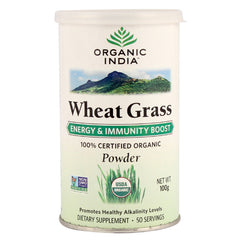 Organic India Wheat Grass 100gm