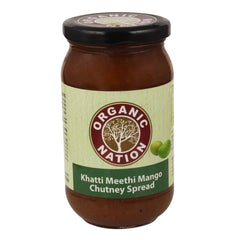 Jams & Spreads - Organic Nation Khatti Meethi Mango Chutney Spread 500gm