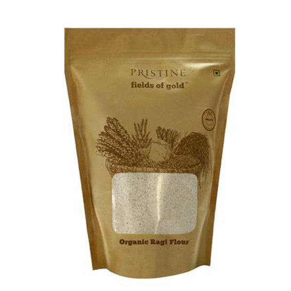 Pristine Organics Fields Of Gold Ragi Flour 1kg