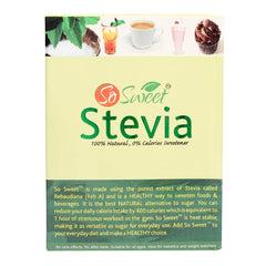 Stevia So Sweet - 50 Sachets