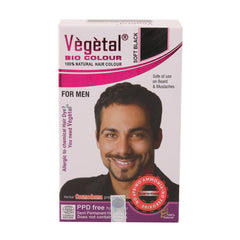 Vegetal Bio Colour For Men Soft Black 25gm
