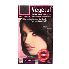 Vegetal Bio Colour Soft Black 150gm