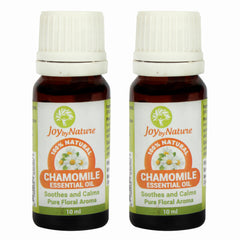 Joybynature Chamomile Essential Oil Combo Pack 2x10ml