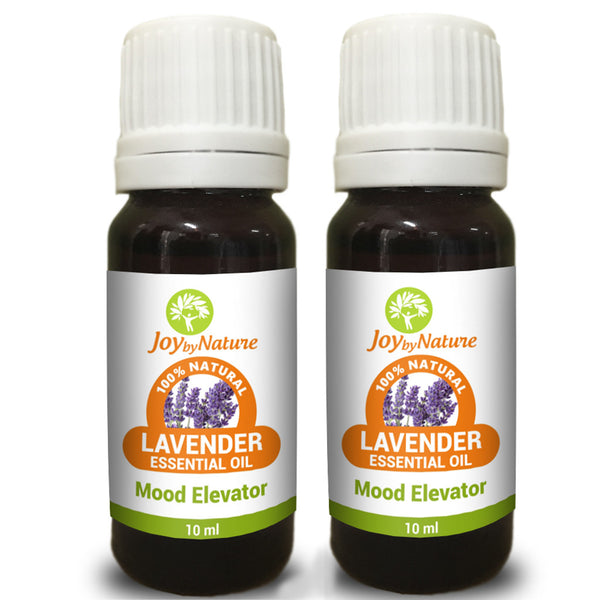 Joybynature Natural Lavender Essential Oil Combo Pack 2x10ml