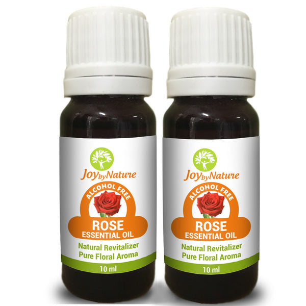 Joybynature Rose Essential Oil Combo Pack 2x10ml