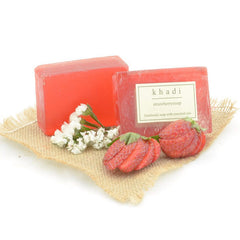 Khadi Natural Strawberry Soap 125gm