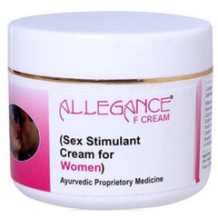 Lasky Herbal Allegance F Sex Stimulant and Libido Enhancer Cream for Female 50gm