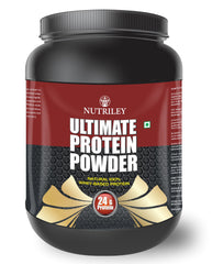 Nutriley Ultimate Protein - Body/Muscle Gainer Whey Protein Supplement (500 Gms)