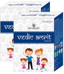 CRD Ayurveda Vedic Amrit - General Wellness & Immunity Capsules (60 Capsules)- Pack of 2