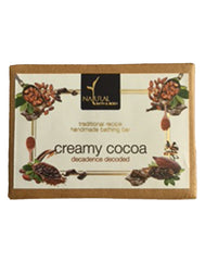 Natural Bath & Body Creamy Cocoa Bathing Bar 125gm