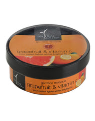 Natural Bath & Body Grapefruit & Vitamin C Gel Face Masque 100ml