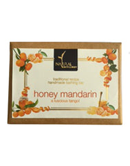 Natural Bath & Body Honey Mandarin Bathing Bar 125gm