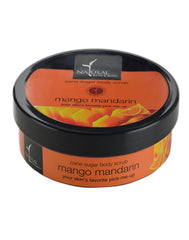 Natural Bath & Body Mango Mandarin Cane Sugar Body Scrub 200gm