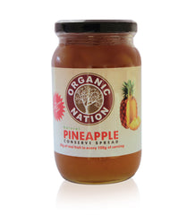Organic Nation Pineapple Conserve Spread 485gm