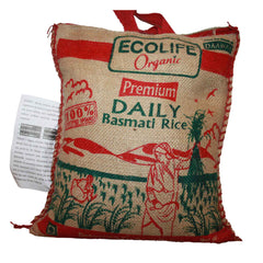 Ecolife Organic Fair Trade Organic  Premium Brown Basmati Rice 500gm