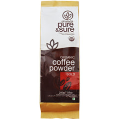 Pure & Sure Organic Coffee Powder Bold 200gm