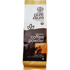 Pure & Sure Organic Coffee Powder Smooth 200gm
