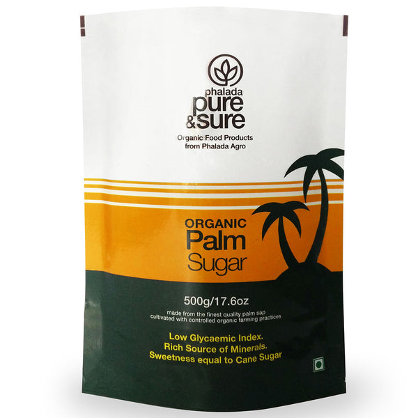 Pure & Sure Organic Palm Sugar 500gm