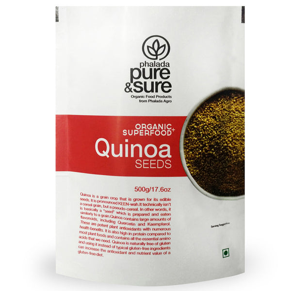 Pure & Sure Organic Quinoa Seeds 500gm