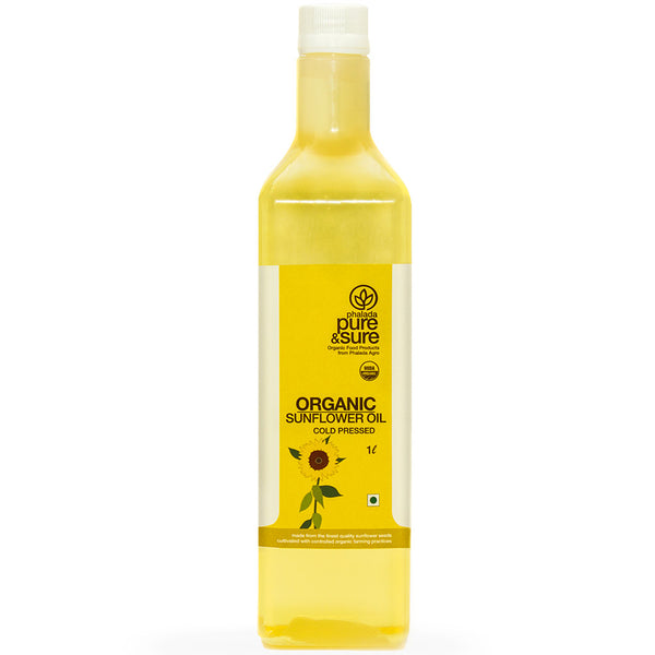 Pure & Sure Organic Sun Flower Oil 1L