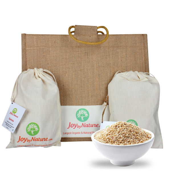 Joybynature Organic Quinoa 500gm (Pack of 2) + Free Jute Bag