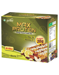 RiteBite Max Protein Honey Lemon (Pack of 6)