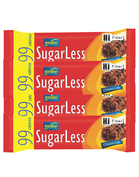 RiteBite Sugarless Choco Lite (Pack of 4)