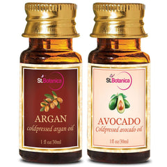 StBotanica Argan Carrier Oil And Avocado Carrier Oil 30ml Each