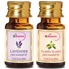 StBotanica Lavender And YlangYlang Pure Essential Oil 10ml Each