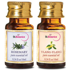 StBotanica Rosemary And Ylang Ylang Pure Essential Oil 10ml Each