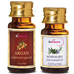 StBotanica Argan Oil 30ml And Rosemary Pure Essential Oil 10ml
