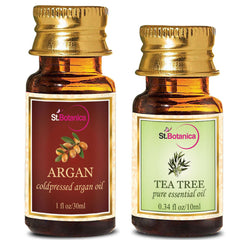 StBotanica Argan Oil 30ml And Tea Tree Pure Essential Oil 10ml
