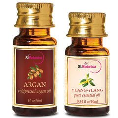 StBotanica Argan Oil 30ml And Ylang Ylang Pure Essential Oil 10ml